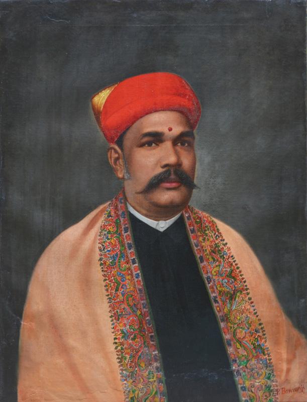 A merchant from Surat by Pesontji Bomanji