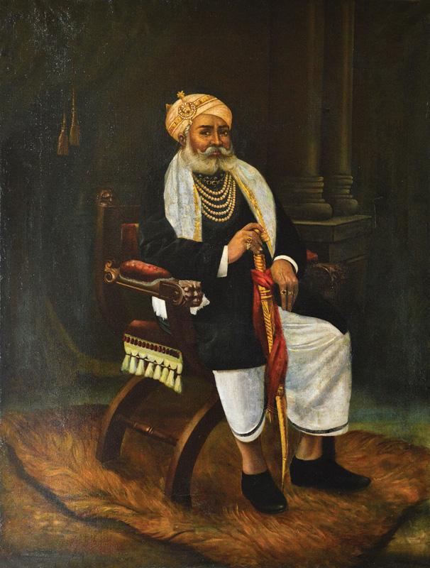Rai Pannalal Mehta by Ravi Varma