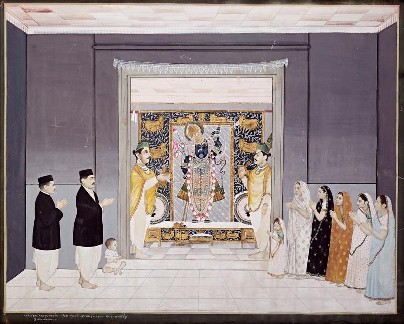 Manorath on the day of Maghsarsudi Purnima with Damodarlalji