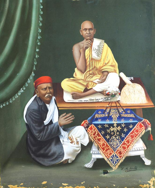 An unidentified Jain devotee