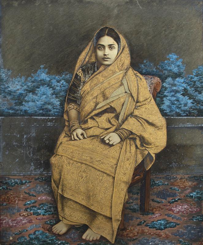 An Aristocrat Bengali woman