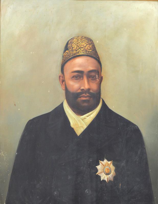 H. H. Muhamed Ibrahim Ali Khan