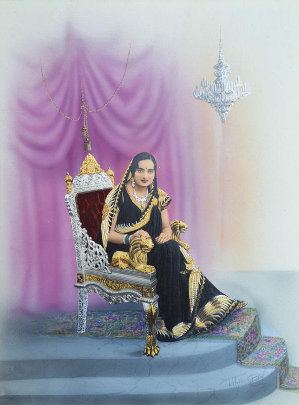 H. H. Kusum Kunwarba Natwarsinhji