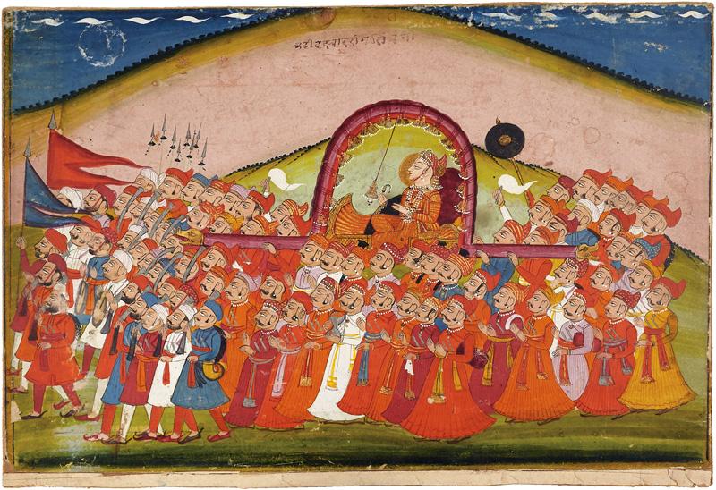 Maharaja Ram Singh of Bundi
