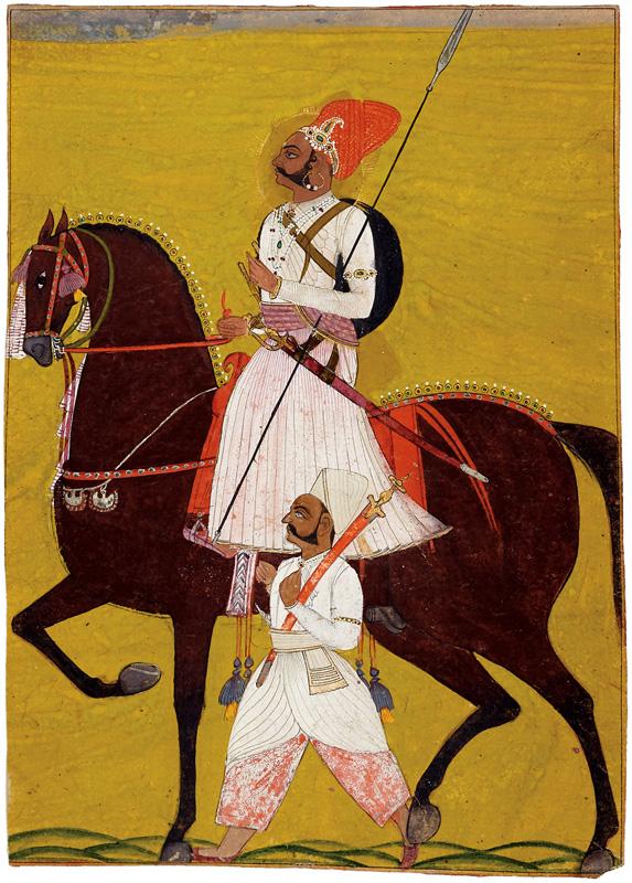 Thakur Rajan Singh of a thikana in Marwar
