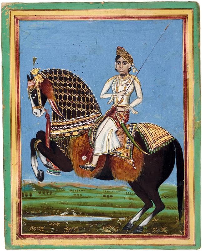 Rani Laxmi Bai warrior queen of Jhansi