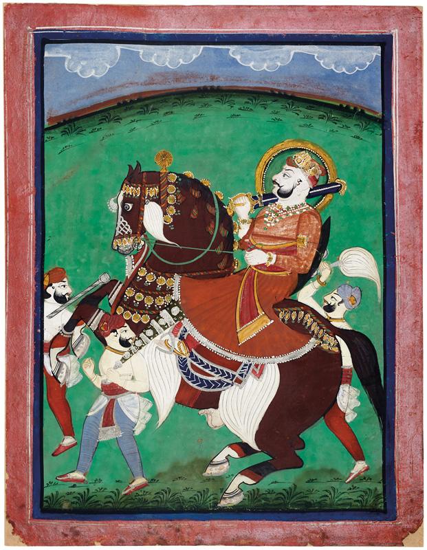 Maharao Ram Singh II of Kotah