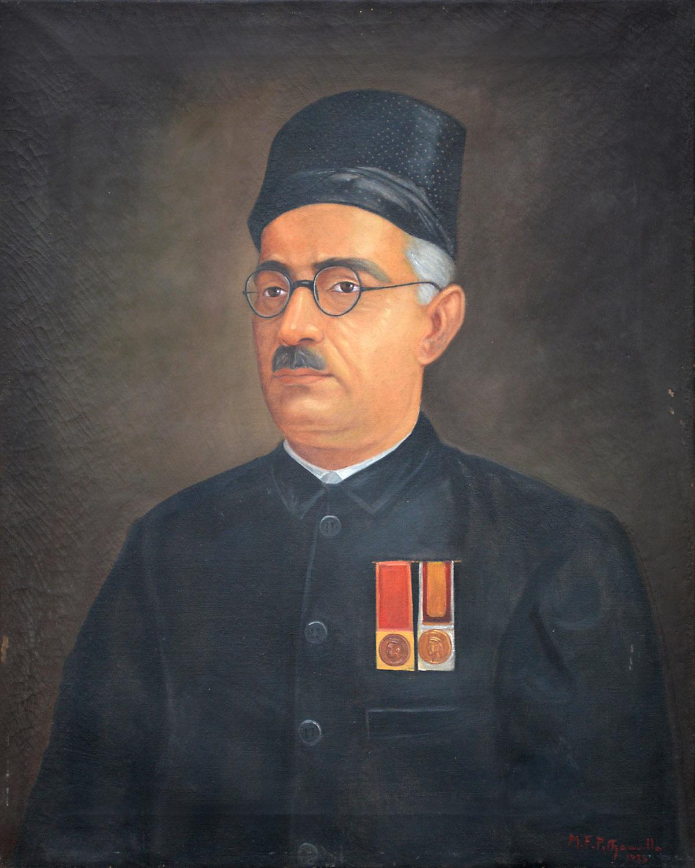 Rajratna Dinshaw Rattonjee Daboo, B. A.