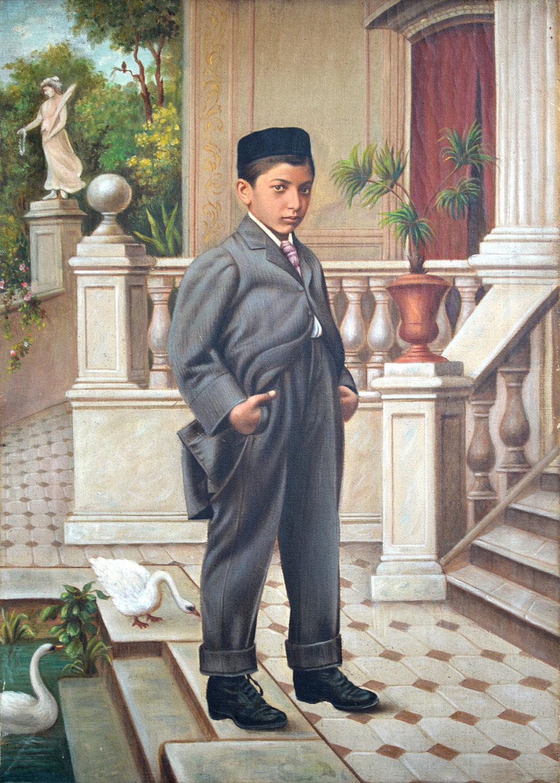 A boy from an affluent family