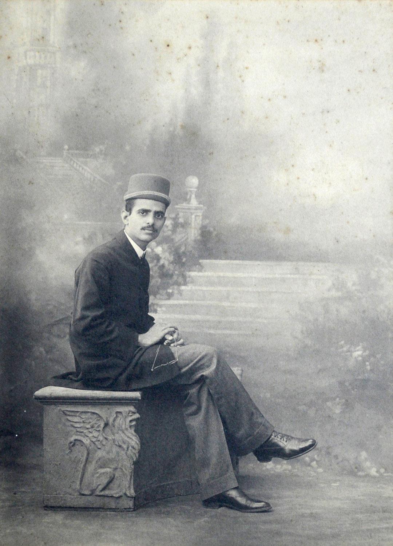 An unidentified Parsi gentleman