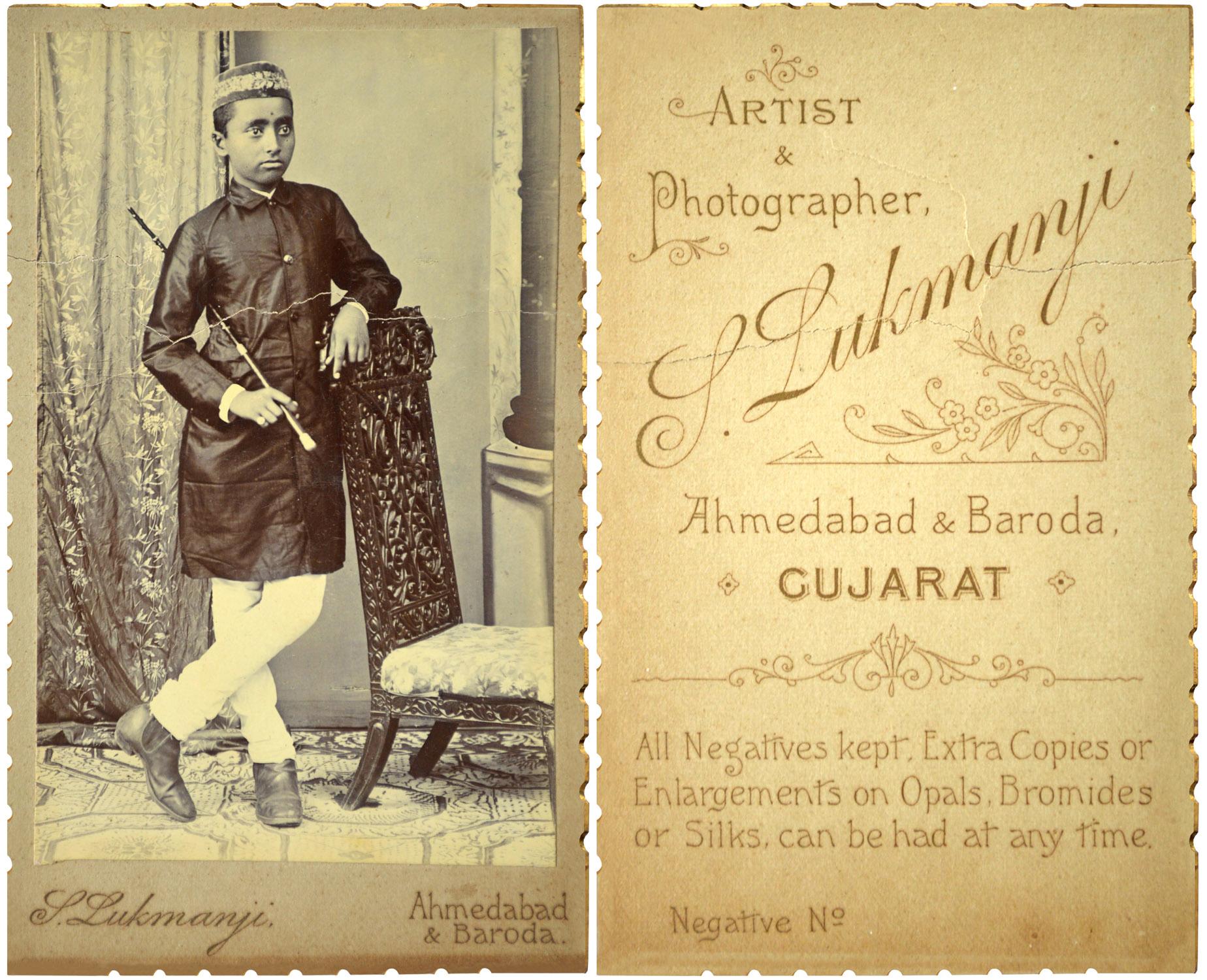 Unknown Parsi boy