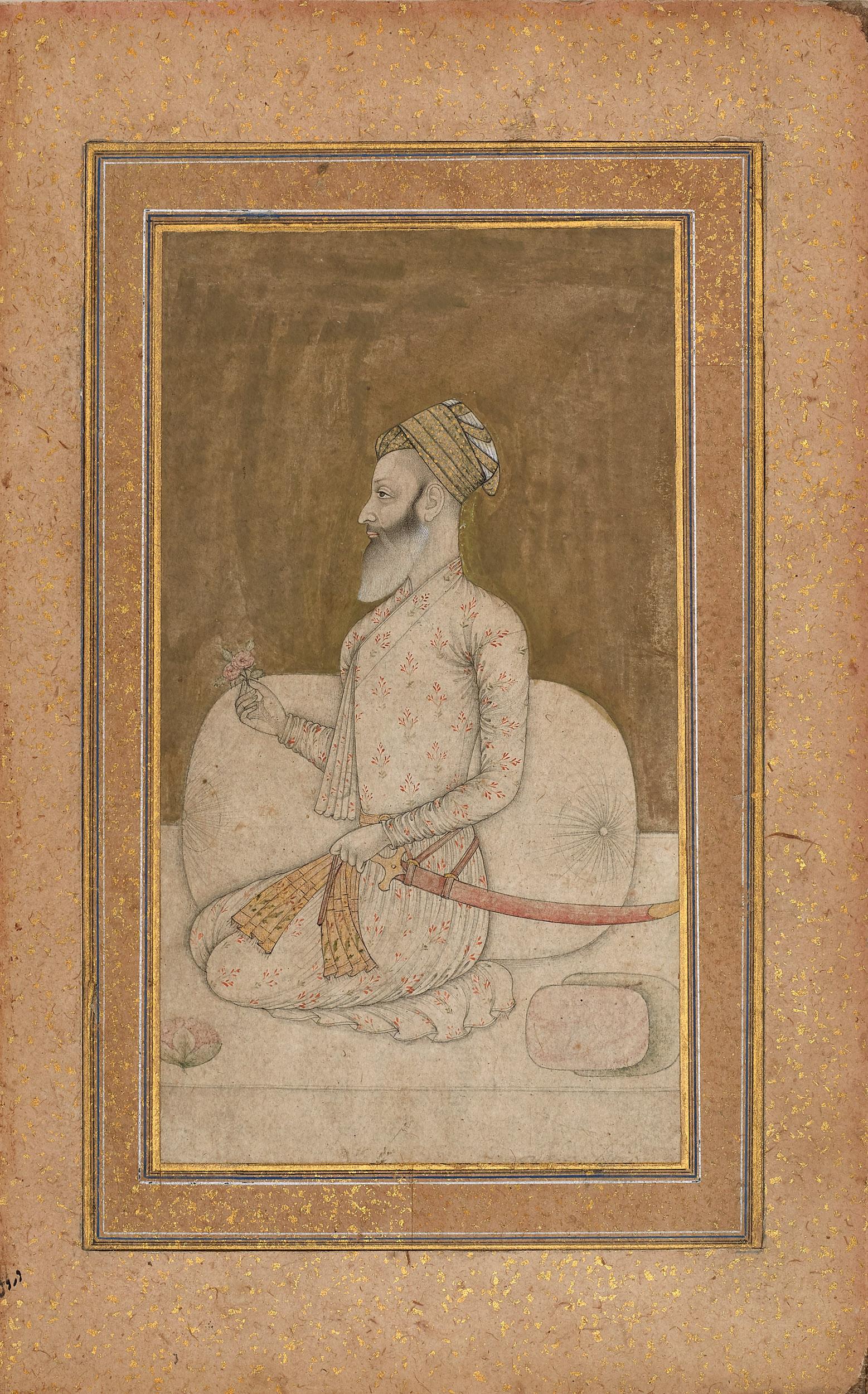 Portrait of a Bearded Nobleman