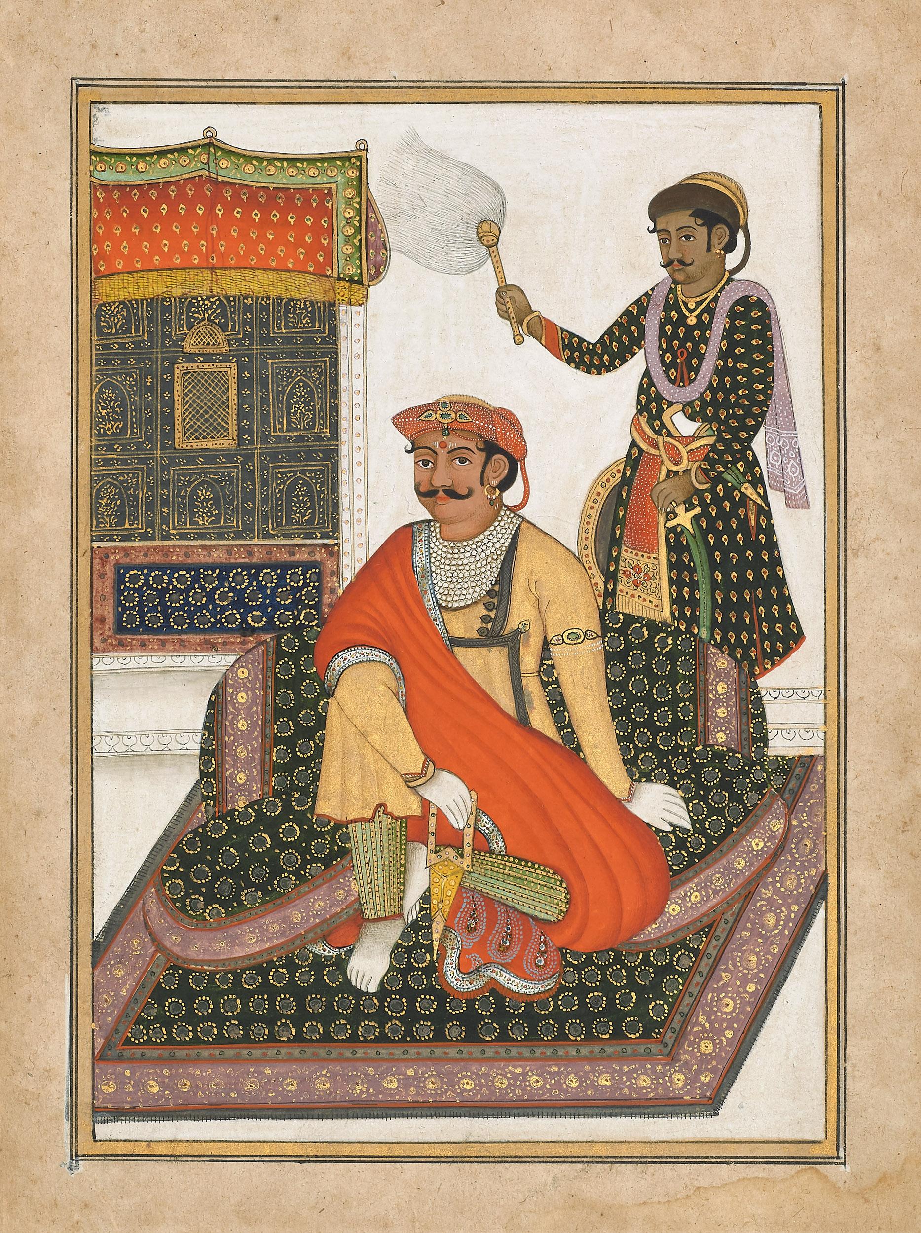 Daulat Rao Scindia of Gwalior